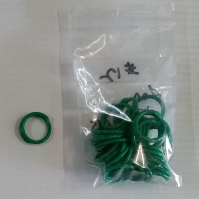Leg Rings Size 12 Green