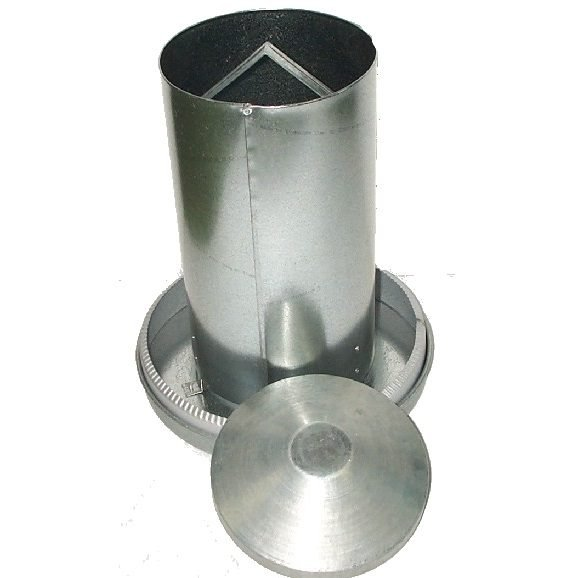 10 Kg Metal feeder with feed saver rim