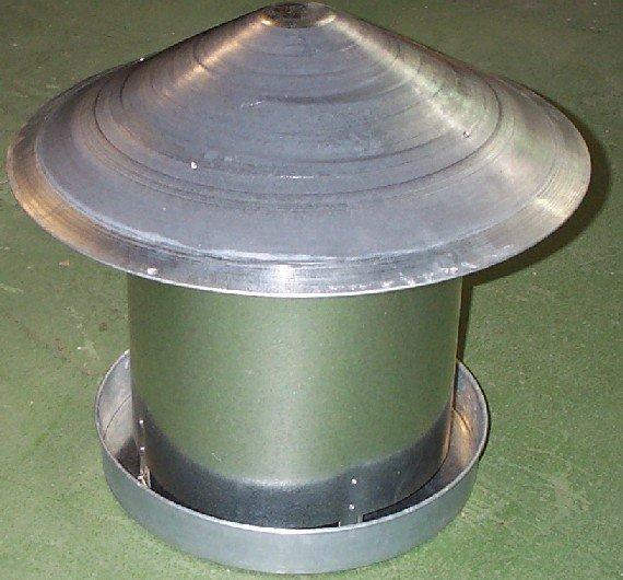 20Kg Metal feeder with China Hat