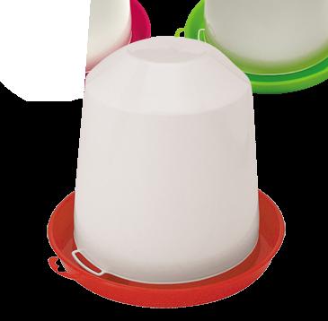 5L Red Base Drinker