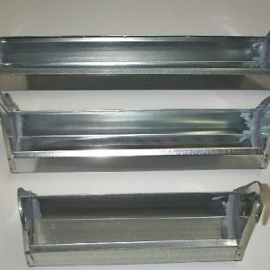 Drinking metal troughs Novital