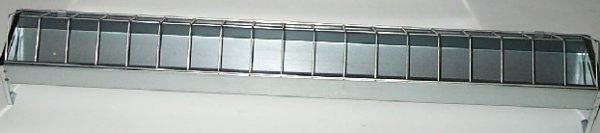 Novital Metal Trough Feeder 100cm