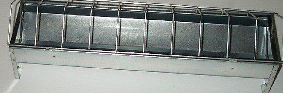 Novital Metal Trough Feeder 50cm