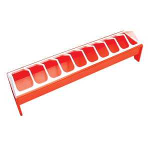 Novital 50cm orange feed trough