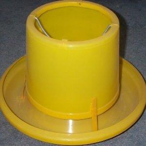 7kg Yellow Plastic feeder